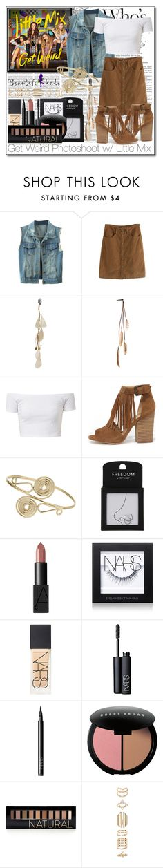 """Beautifulhalo III/13"" by ana-a-m on Polyvore featuring Topshop, Chinese Laundry, NARS Cosmetics, Bobbi Brown Cosmetics, Forever 21, Accessorize, women's clothing, women's fashion, women and female"