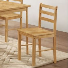 2 Solid Wooden Dining Chair Set Sturdy Kitchen Furniture Rooms Side Rubberwood     Take  this Amazing Gift. Take a look LUXURY HOME BRANDS and buy this offer Now!