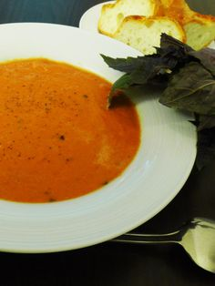 Testing Tuesday: Healthy Tomato Soup - Nutrition Meets Life