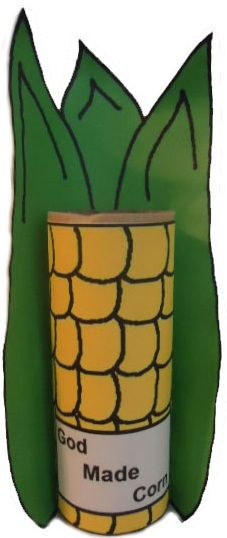 Corn Toilet Paper Roll Craft
