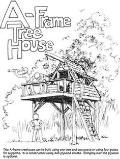Build A Backyard Treehouse With These Free Plans