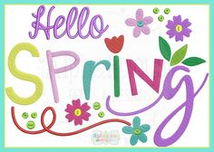 Image result for spring words