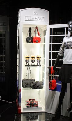 Karl Lagerfeld's first London store