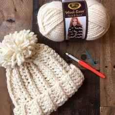 Snow Beanie Hat free Crochet Pattern