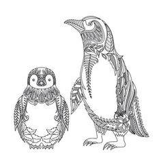dont you think penguins are cute therefore we created a cute penguin coloring page - Coloring Pages Of Penguins