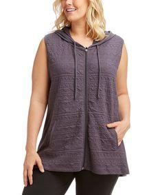 Loving this Nine Iron Quilted Vest - Plus on #zulily! #zulilyfinds