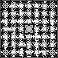 minecraft designs blueprint maze - Google Search