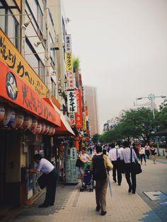 Streets of Tamachi.
