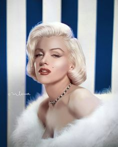 Marilyn Monroe in colour is on Facebook, all you need to do is search then enjoy the lovely pictures of  this sexy icon.