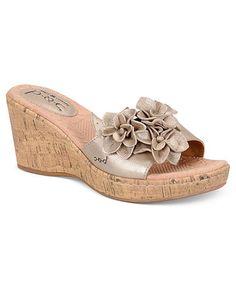 boc champagne colored shoes | by Born Shoes, Mel Platform Wedge Sandals - Shoes - Macy's