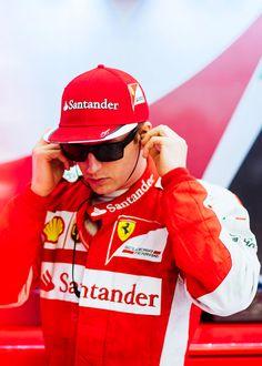 #Kimi #KimiRaikkonen #Raikkonen #iceman #scuderiaferrari #bahgp #redseason #BahrainGp #F1 (saturday; 04 18,2015) pic05