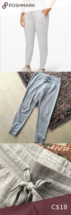 🔥BOGO Light Grey Comfy Jogger Sweatpants In good used condition with some slight pilling (pictured). Size medium! So comfy. Drawstring waist. From a pet and smoke free home 😊 Joe Fresh Pants & Jumpsuits Track Pants & Joggers Maroon Pants, Purple Pants, Fleece Joggers, Jogger Sweatpants, Black Yoga, Joe Fresh, Athletic Pants, Workout Pants, Drawstring Waist