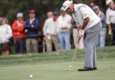 On this day, 1981 Miller Barber wins the Senior PGA Championship over Arnold Palmer