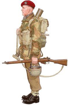 marketgarden.com - gear - 1st Airborne Division - personal protection/headgear