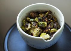 Little Vegan Eats: Easy Roasted Brussels Sprouts