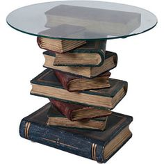 Vintage Book Table