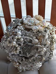 I love brooch bouquets