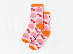 the cutest socks for kids from Kom Cute Socks, Baby Accessories, Children, Kids, Fashion, Pink, Barn, Tights, Accessories