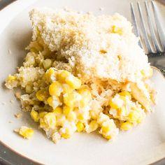Creamed Corn Casserole | vegan + dairy free | kiipfit.com
