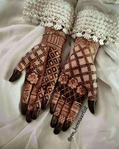 Khafif Mehndi Design, Floral Henna Designs, Latest Bridal Mehndi Designs, Modern Mehndi Designs, Henna Art Designs, Mehndi Designs For Beginners, Mehndi Design Photos, Wedding Mehndi Designs, Dulhan Mehndi Designs