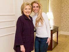 Britney Spears on Meeting Hillary Clinton in Vegas: 'This Woman Had an Intense Presence' #Entertainment_ #iNewsPhoto