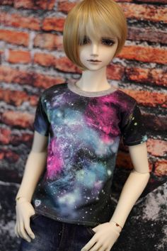 Galaxy SD13 Boy BJD Shirt Ball Jointed Doll Clothes by guppykisses