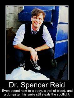 The Reid Effect - Dr. Spencer Reid Fan Art (27680813) - Fanpop fanclubs