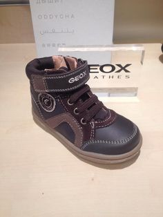 235a87b50b Geox B Flick B.E Boys Winter Snow Ankle Boots Leather Medium Brown Sizes 22  23