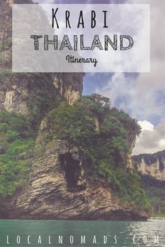Krabi Thailand Itinerary  Things to do Where to Stay