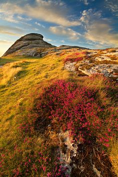 Haytor Vale, England - Love climbing here with Simon