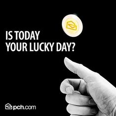 PCH wants to know is today your #Lucky day?