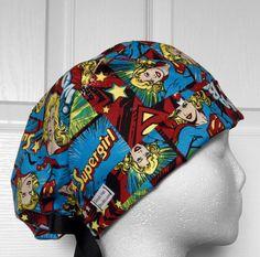 Supergirl scrub hat