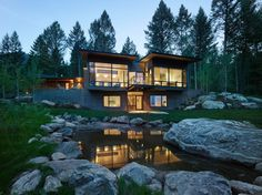 Wyoming retreat by Carney Logan Burke Architects