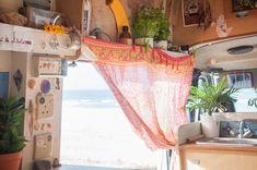 Two People Live in This Cozy, Van: gallery image 18 Van Interior, Camper Interior, Interior And Exterior, Bus Living, Tiny Living, Kombi Home, Van Home, Bus Life, Gypsy Caravan