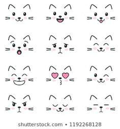 Emoji Drawings, Easy Doodles Drawings, Easy Doodle Art, Cute Easy Drawings, Simple Doodles, Cute Doodles, Kawaii Drawings, Bullet Journal Writing, Bullet Journal Ideas Pages