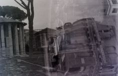 https://flic.kr/p/FzRKcK | Temple of Hercules Victor, Rome (Italy) | Holga, Lomography Lomography #holga #analog #photography #blackandwhite #rome