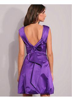 Ravishing High Collar A-line Short Mini Circle Purple Vintage Inspired Special Occasion Dresses A Line Shorts, High Collar, Special Occasion Dresses, Vintage Inspired, Formal Dresses, Purple, Inspiration, Mini, Fashion