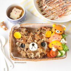 Cute Rilakkuma Okonomiyaki