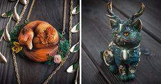 Mythical Animal Jewelry That They Make Using Various Minerals And Polymer Clay https://plus.google.com/+KevinGreenFixedOpsGenius/posts/RUsoU1pz4Yf