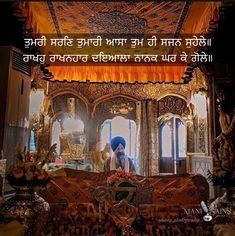 Gurbani Quotes, Faith Quotes, Nanak Dev Ji, Golden Temple Amritsar, Guru Pics, Religious Pictures, Punjabi Quotes, Quotes About God, Religion