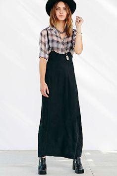 Silence + Noise Suspender Maxi Skirt