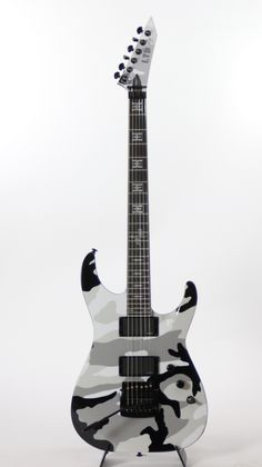 ESP LTD JH Tribute Urban Camo Jeff Hanneman Electric Guitar