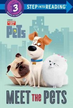 Illumination Entertainment and Universal Pictures present The Secret Life of Pets, a comedy about the lives our pets lead after we leave for work or school each day. This Step 3 Step into Reading leve Bird Template, Pet Steps, New Children's Books, Secret Life Of Pets, Collector Cards, Animal Books, Pet Life, Cool Pets, The Secret