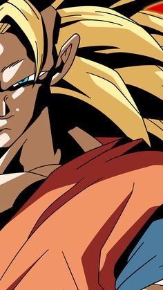 SSJ3 Goku Xenoverse Phone Wallpaper Without Logo by RayzorBlade189 on @DeviantArt