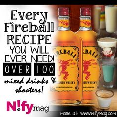 Fireball Recipes