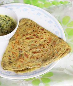 methi paratha methi roti step by step recipe