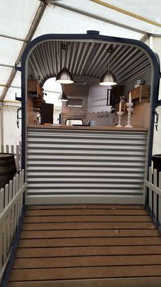 Food Truck Trailer Mobile Bar 61 Ideas For 2019 Catering Van, Catering Trailer, Food Trailer, Concession Trailer, Food Trucks, Glamping, Camping Canopy, Converted Horse Trailer, Foodtrucks Ideas