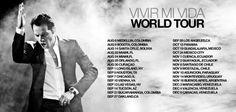 Vivir mi vida world Tour 2013