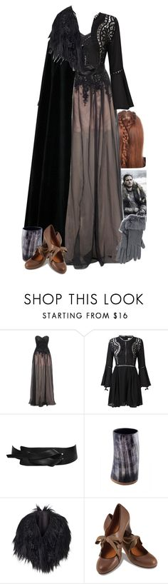 """""""Game of Thrones """"Queen in the North"""""""" by werewolf-gurl ❤ liked on Polyvore featuring Lipsy, Longchamp, Phase Eight, Chie Mihara and DEMI"""