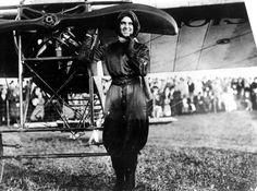 Harriet Quimby (1875-1912) was many things during her short-lived life: an actress, journalist, photographer, and most notably a pilot. In fact, she was the first American woman to become a licensed pilot, and the first woman to fly the English Channel.